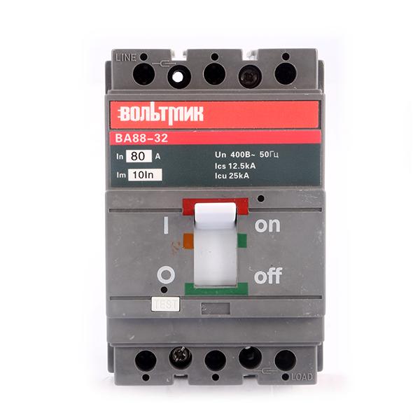 (S) Авт.выключатель ВА 88-32 3Р 80А 25кА