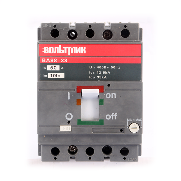(S) Авт.выключатель ВА 88-33 3Р 50А 35кА