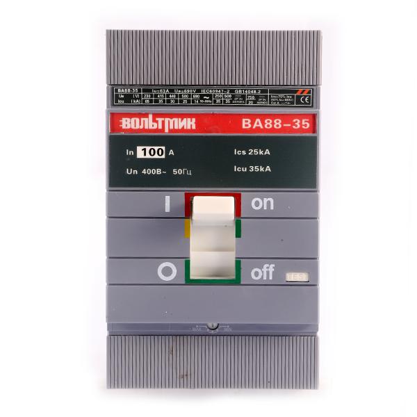 (S) Авт.выключатель ВА 88-35 3Р 100А 35кА