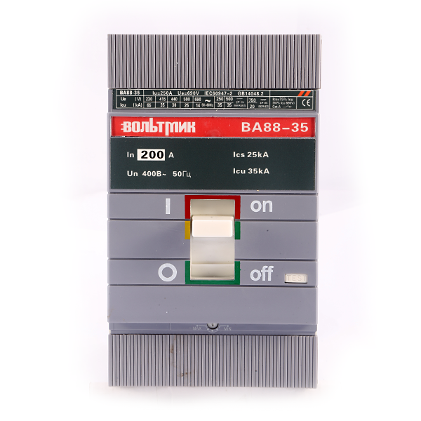 (S) Авт.выключатель ВА 88-35 3Р 200А 35кА