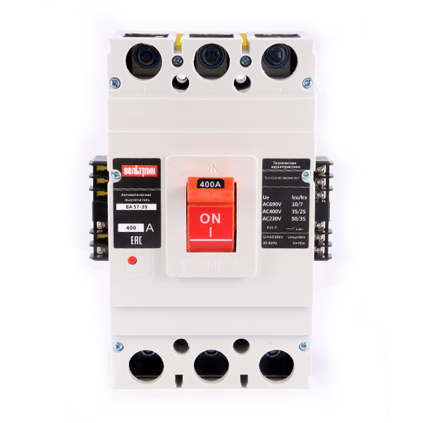 (S) Авт.выключатель ВА 57-39 341810 250А 2500 (НР-220АС)