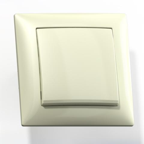 Выключатель 1-кл СП 10А IP20 сл.кость С110-378 Селена 8140