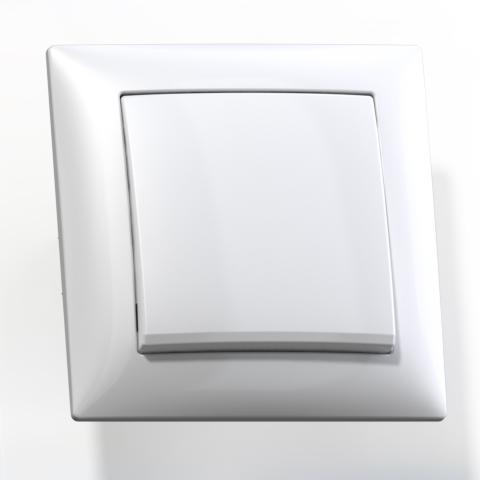 Выключатель 1-кл СП 10А IP20 бел. С110-378 Селена 8100