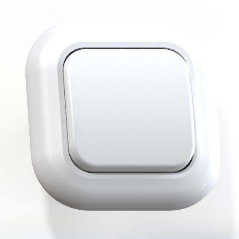 Выключатель 1-кл СП 6А IP20 бел. С16-040 Валентина 7643