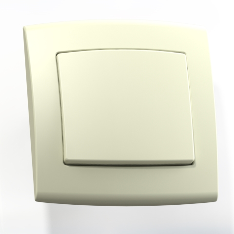 Выключатель 1-кл СП 6А IP20 сл.кость С16-077 Елизавета 6464