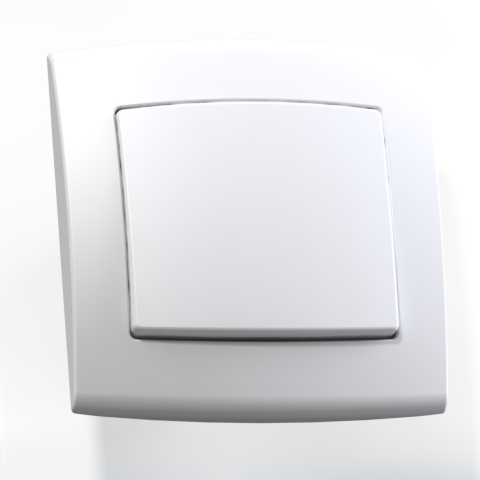 Выключатель 1-кл СП 6А IP20 бел. С16-077 Елизавета 6413
