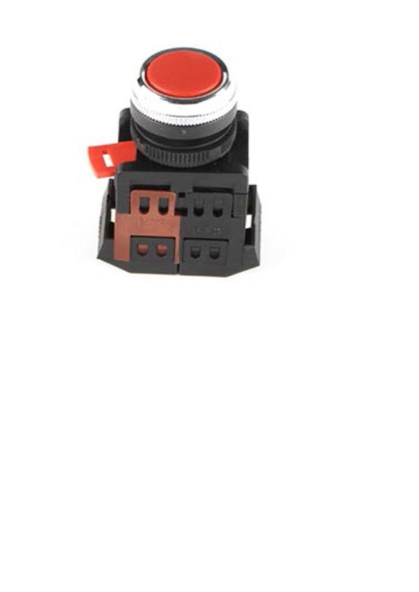 (S) Кнопка ABLFS-22&25 (с подсветкой неон, зелёная)